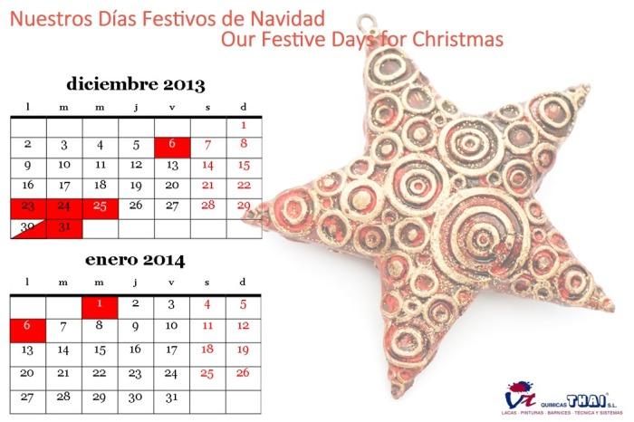 QTsl Festivos Christmas 2013
