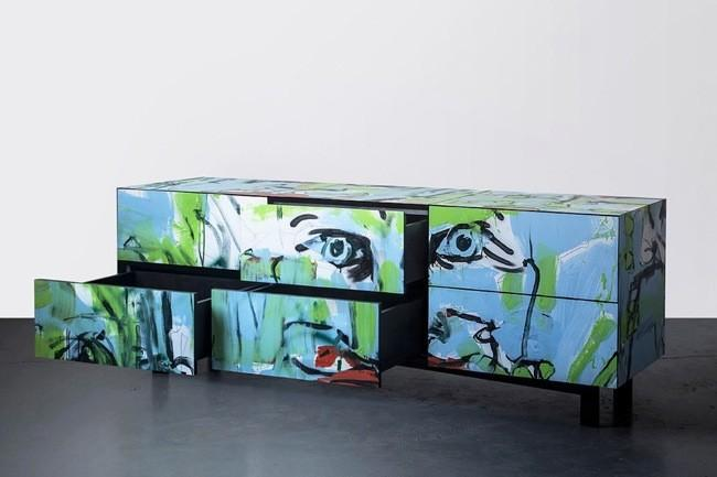 Graffiti Furniture