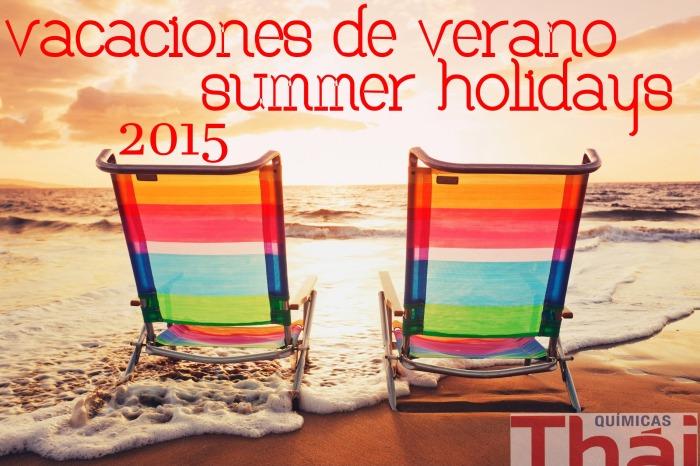 Vacaciones Verano 2015 Summer Holidays 2015