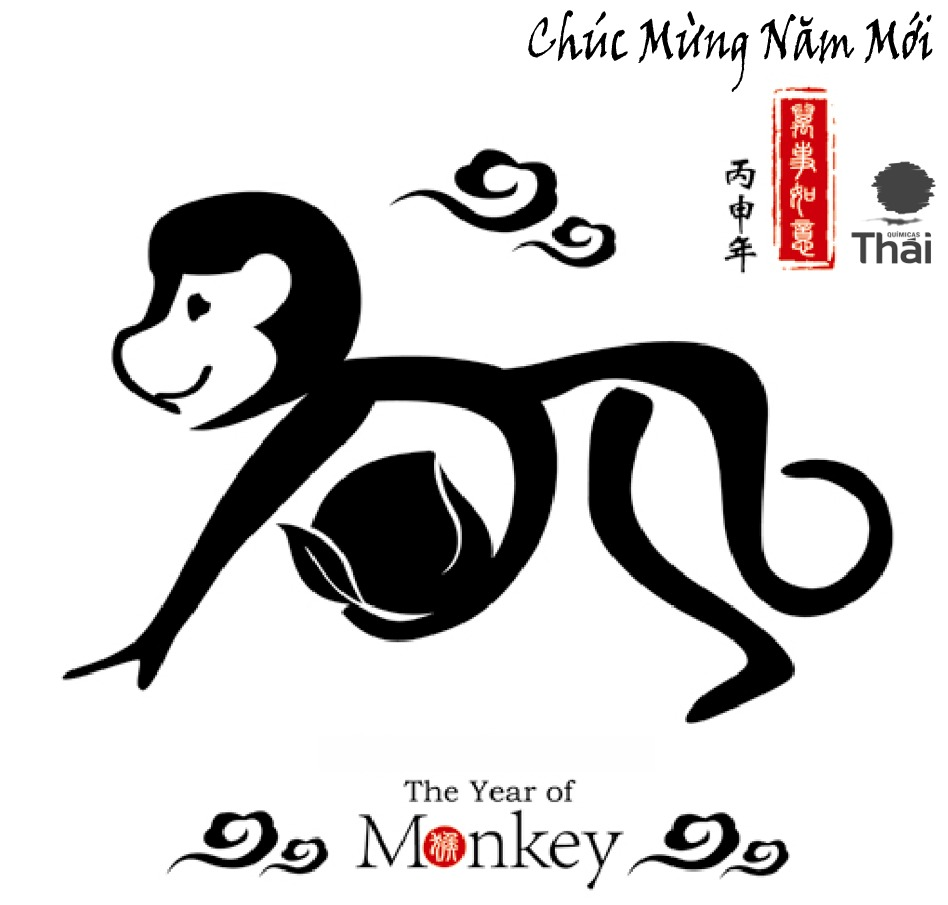 2016 Year of the Monkey QT